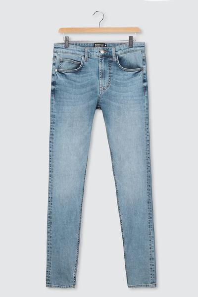 Jean skinny basique stone clair