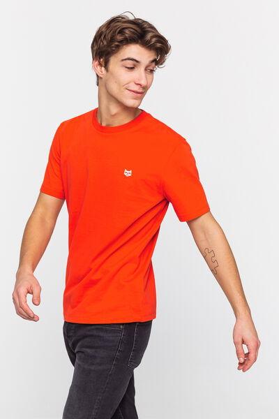 T-shirt broderie racoon