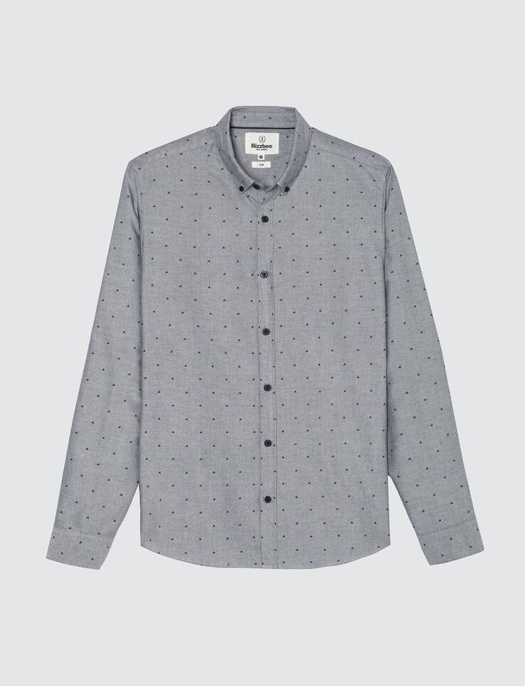 Chemise moulinée fantaisie