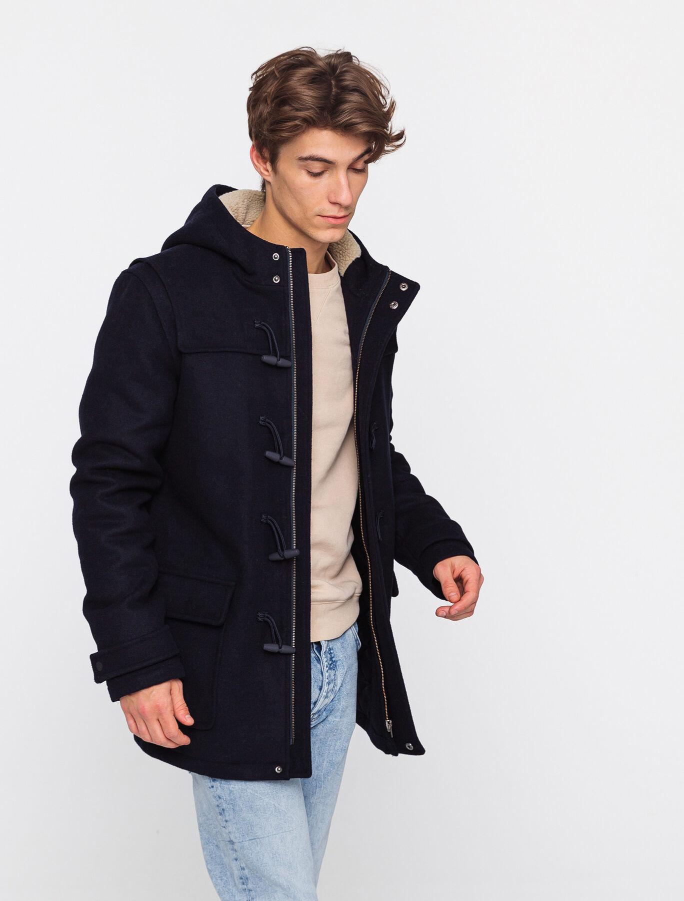 Duffle coat en laine