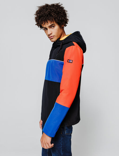 Blouson color block  homme