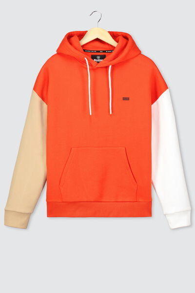 Sweat oversize colorblock