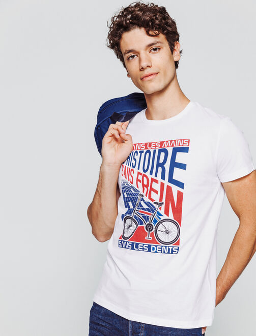 T-shirt Histoire sans frein homme