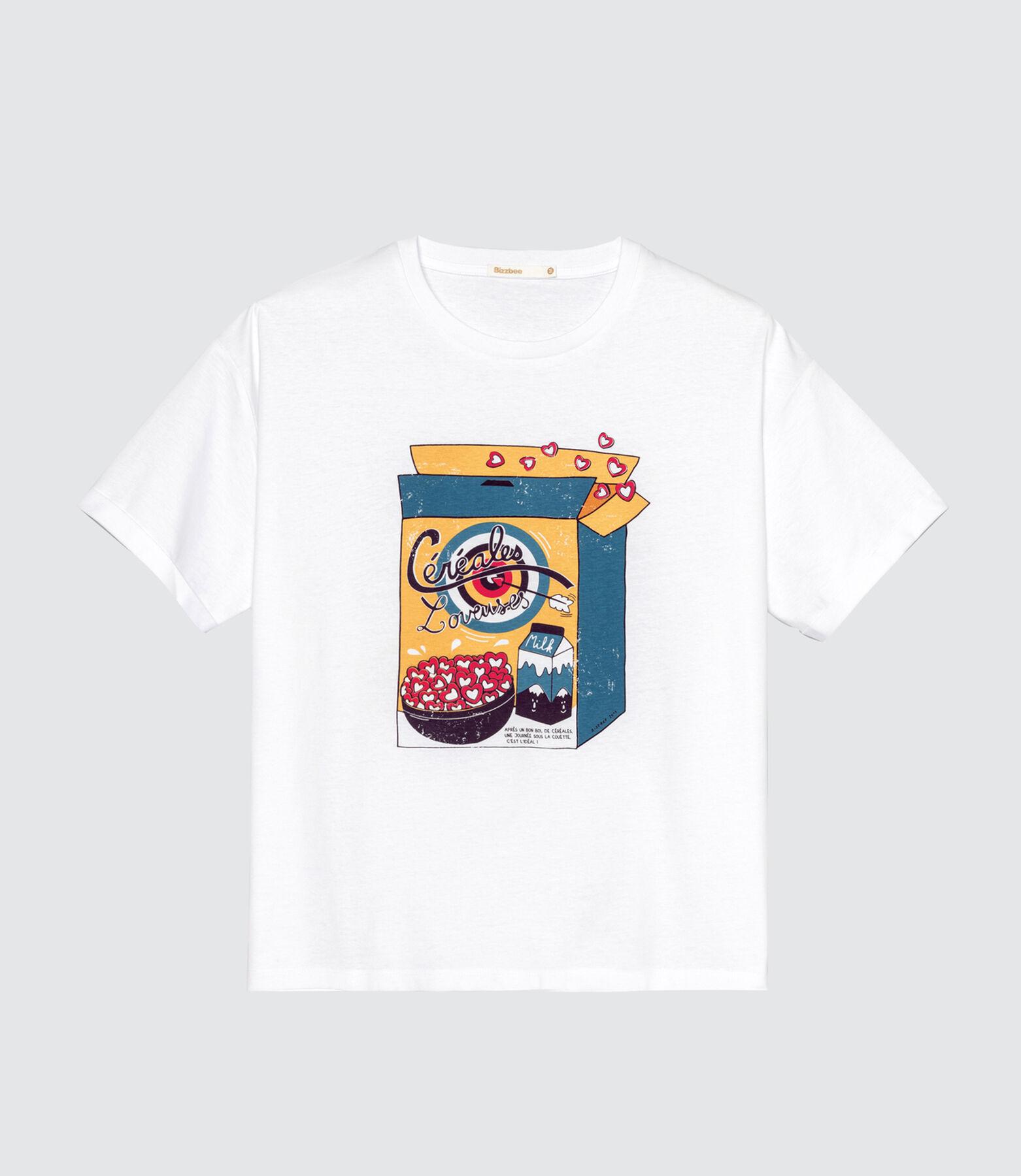 T-shirt fantaisie céréales