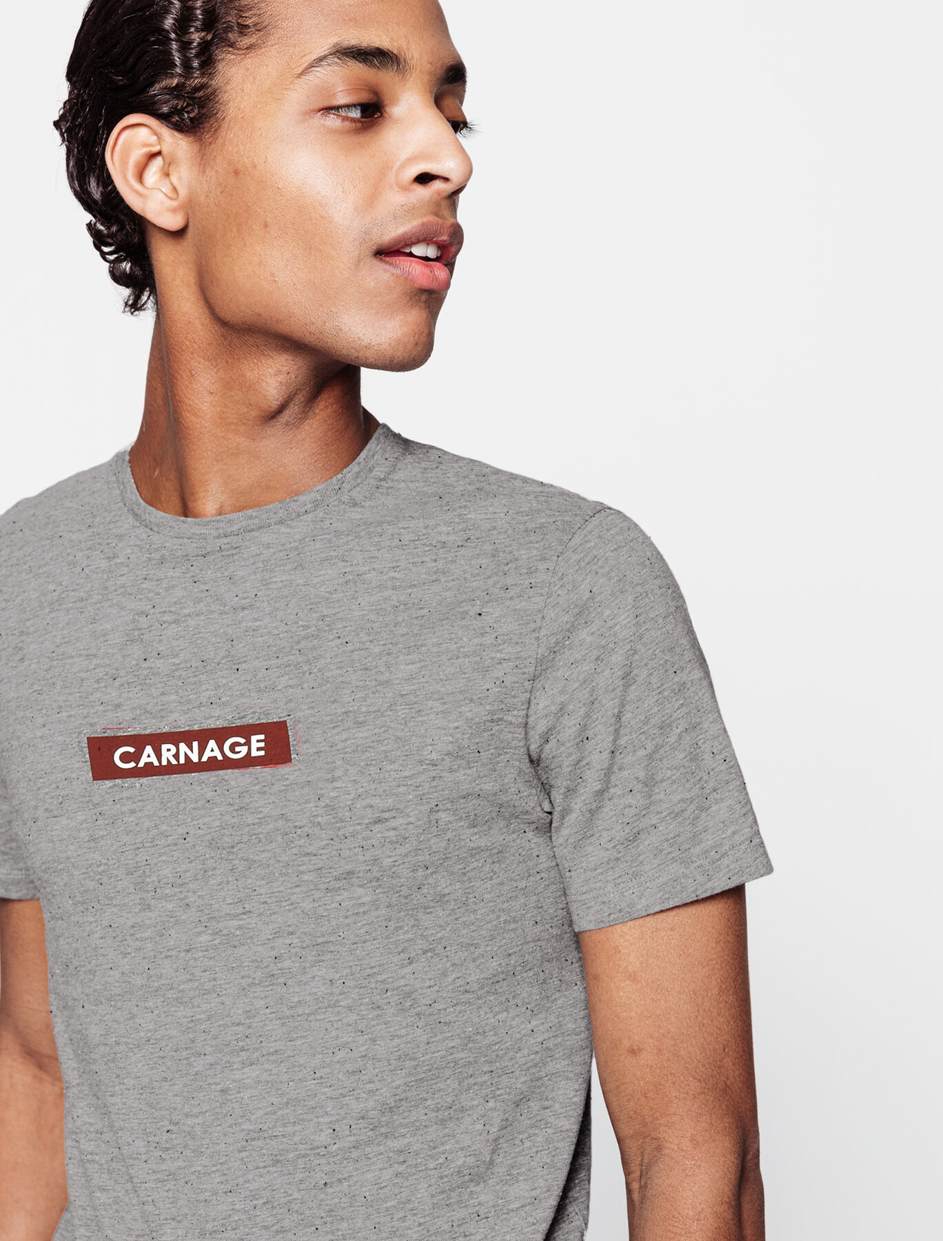 T-shirt à message carnage