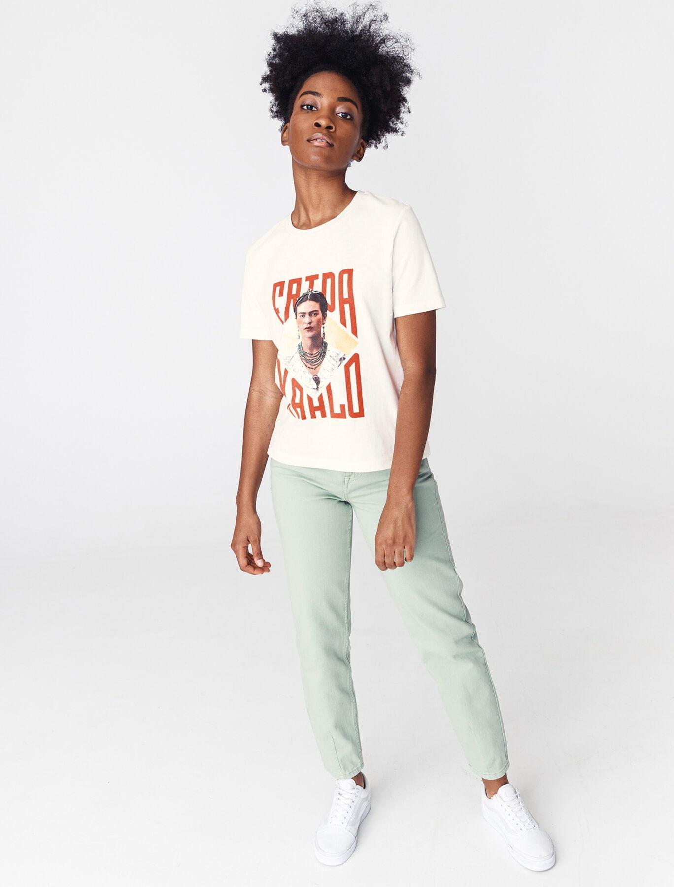 "T-shirt licence ""FRIDA KHALO"" en coton bio"