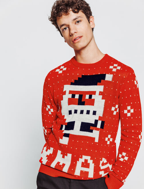 Pull de Noël traditionnel  homme
