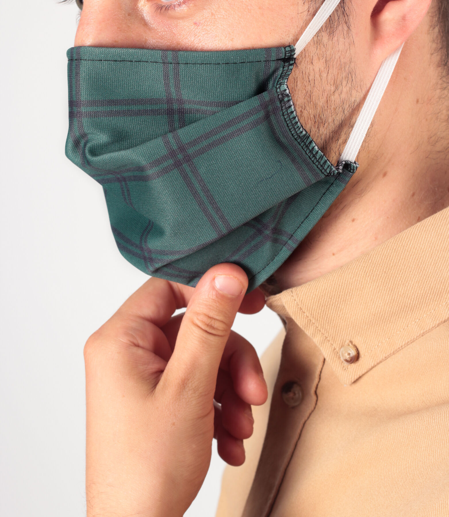 Masque en tissu fantaisie