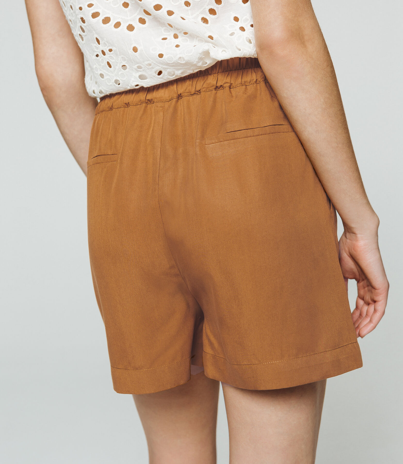 Short tencel