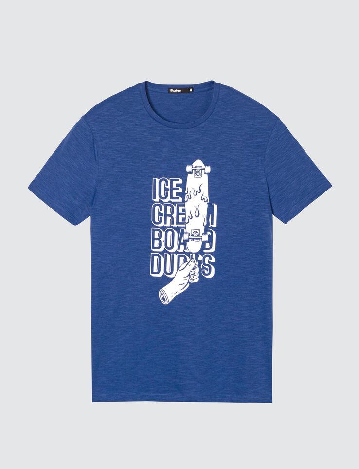 T-shirt print dessin devant