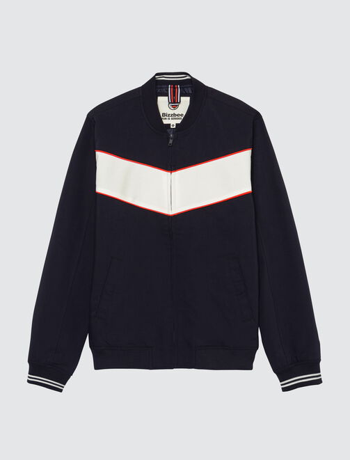 Bomber colorblock homme
