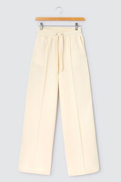 Pantalon molleton large