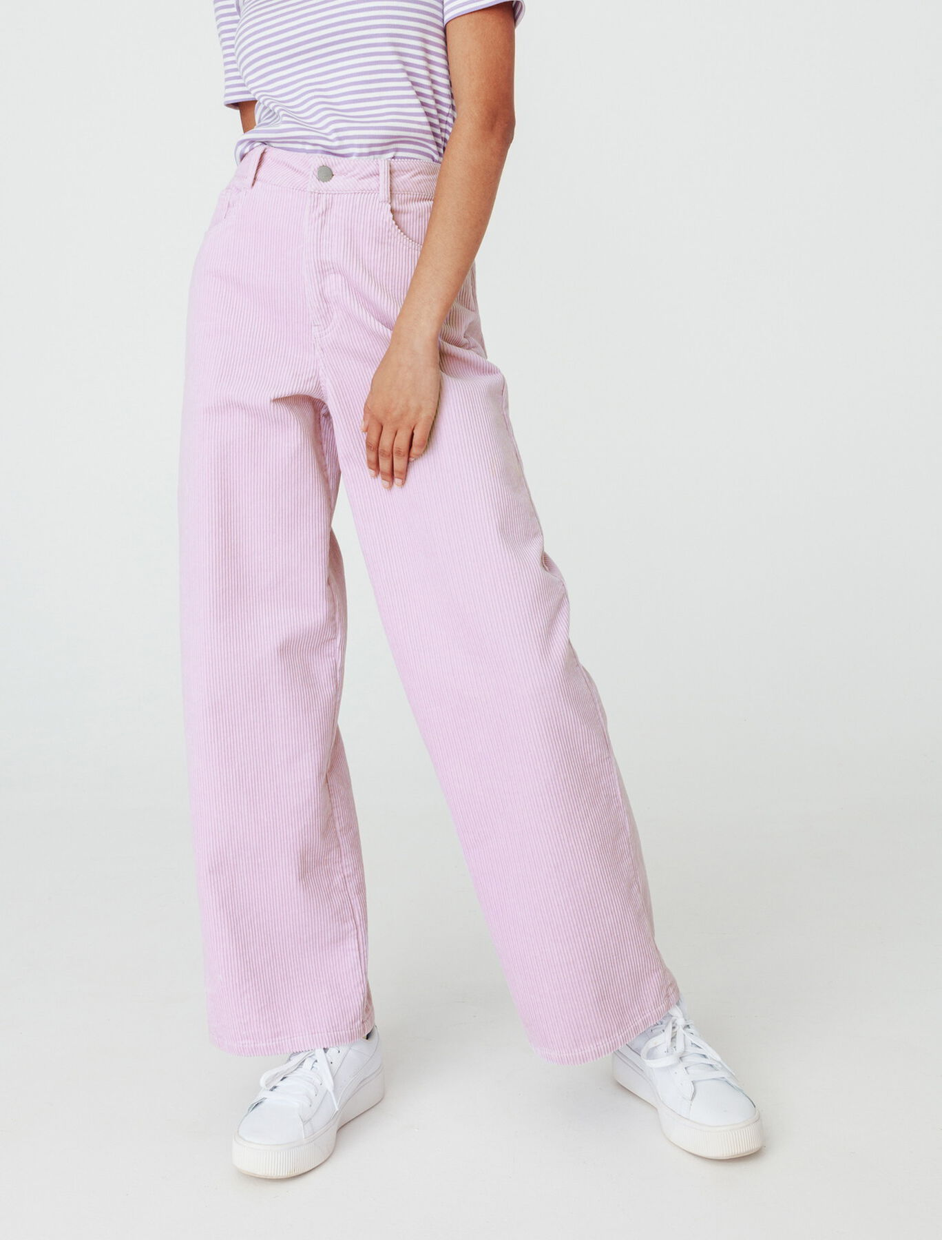 Pantalon Velours Wide Leg Coton recyclé