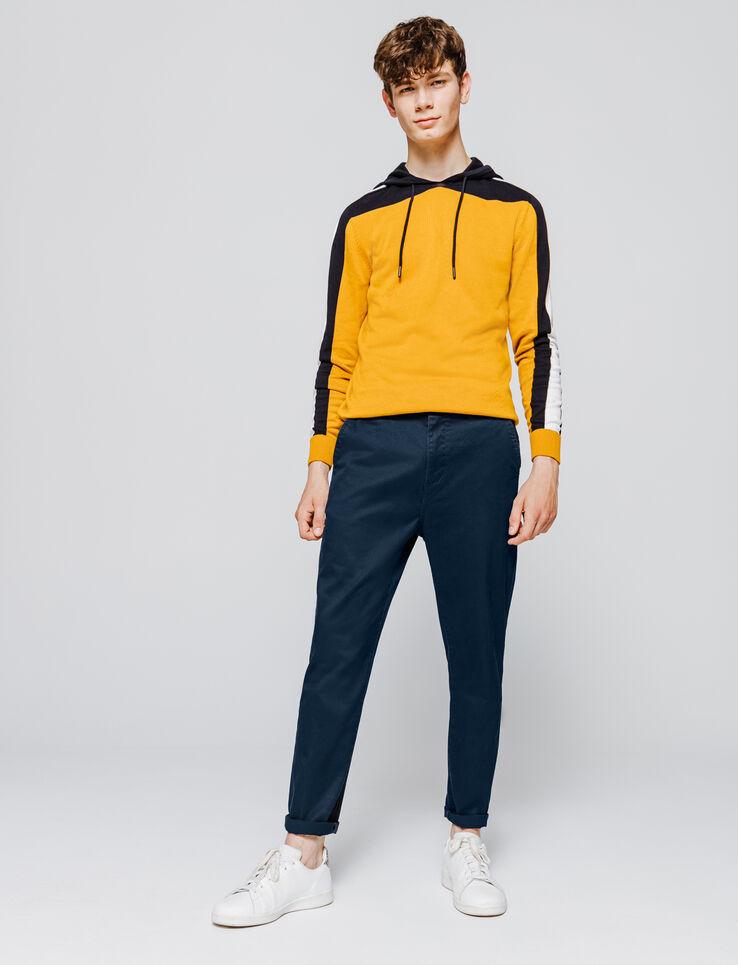 Pantalon chino en coton large