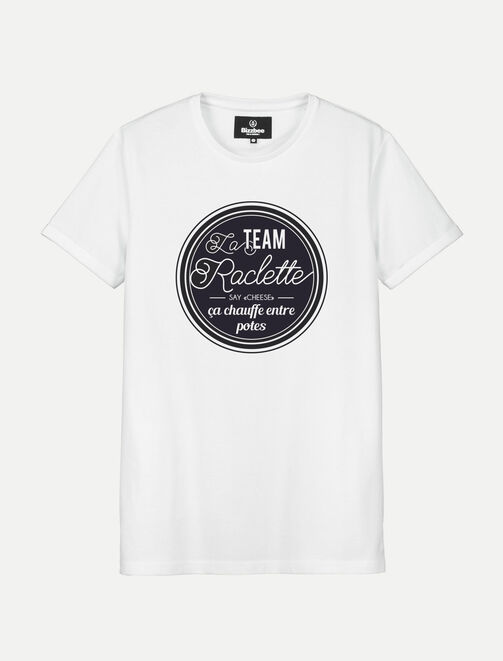 T-shirt Team Raclette homme