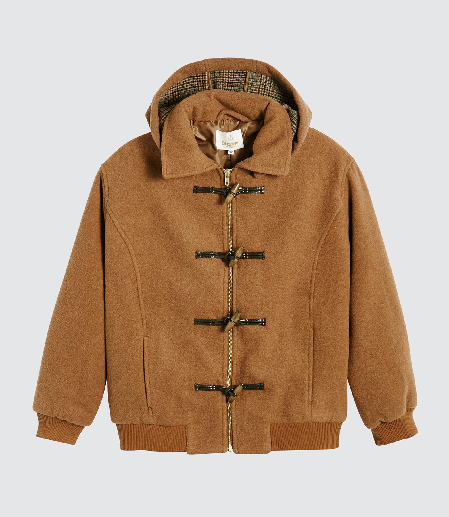 Manteau Duffle Coat en Laine