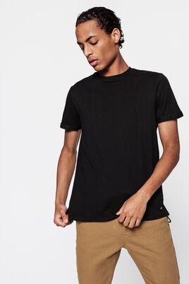 T-shirt uni en coton issu de l'agriculture bio