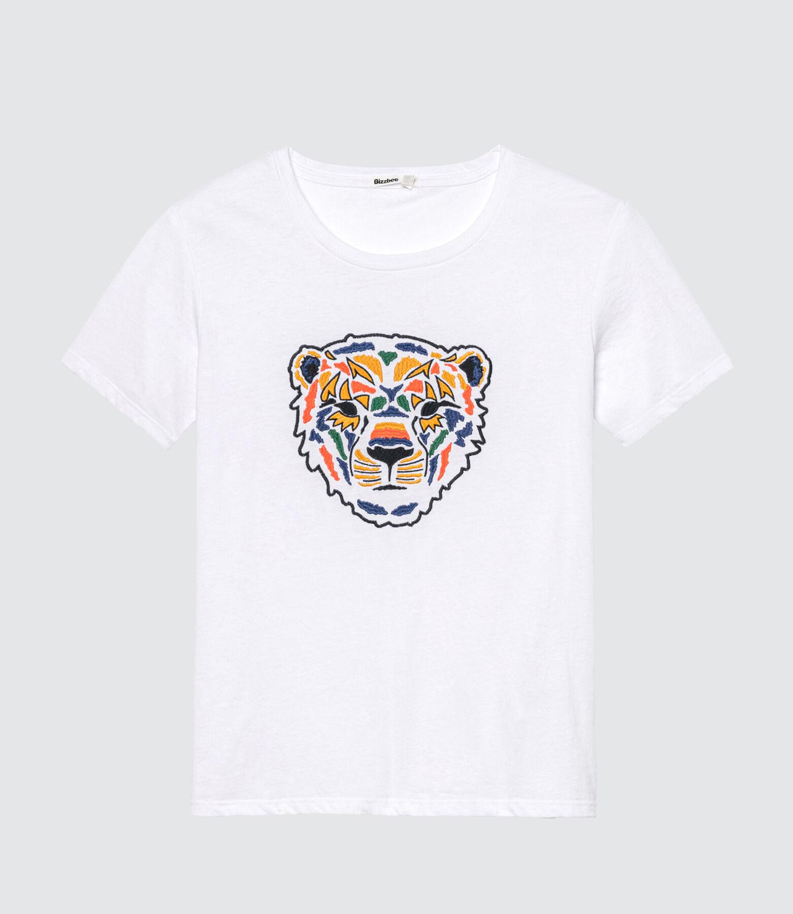 T-shirt tête de tigre