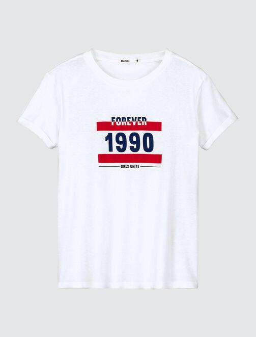 T-shirt 1990 femme