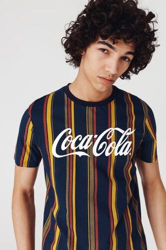 "T-shirt rayures ""Coca-Cola"""