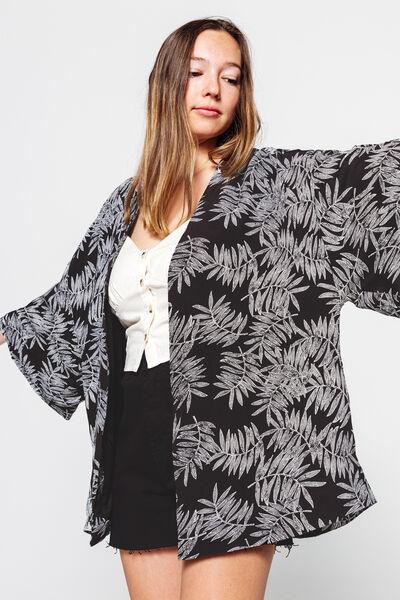 Kimono Imprimé Jungle