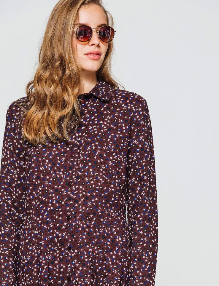 Robe chemise imprimée