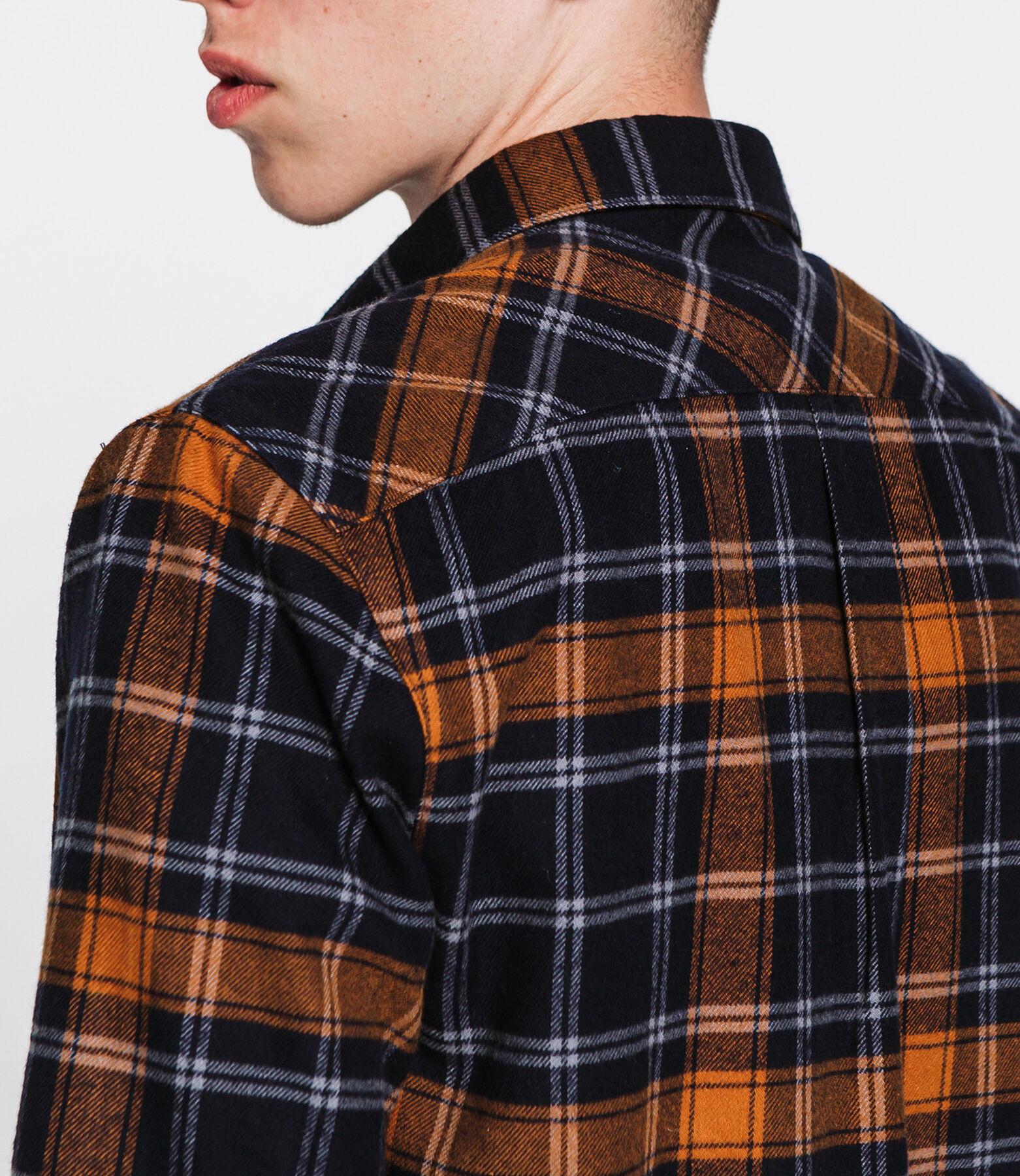 Chemise flanelle à carreaux