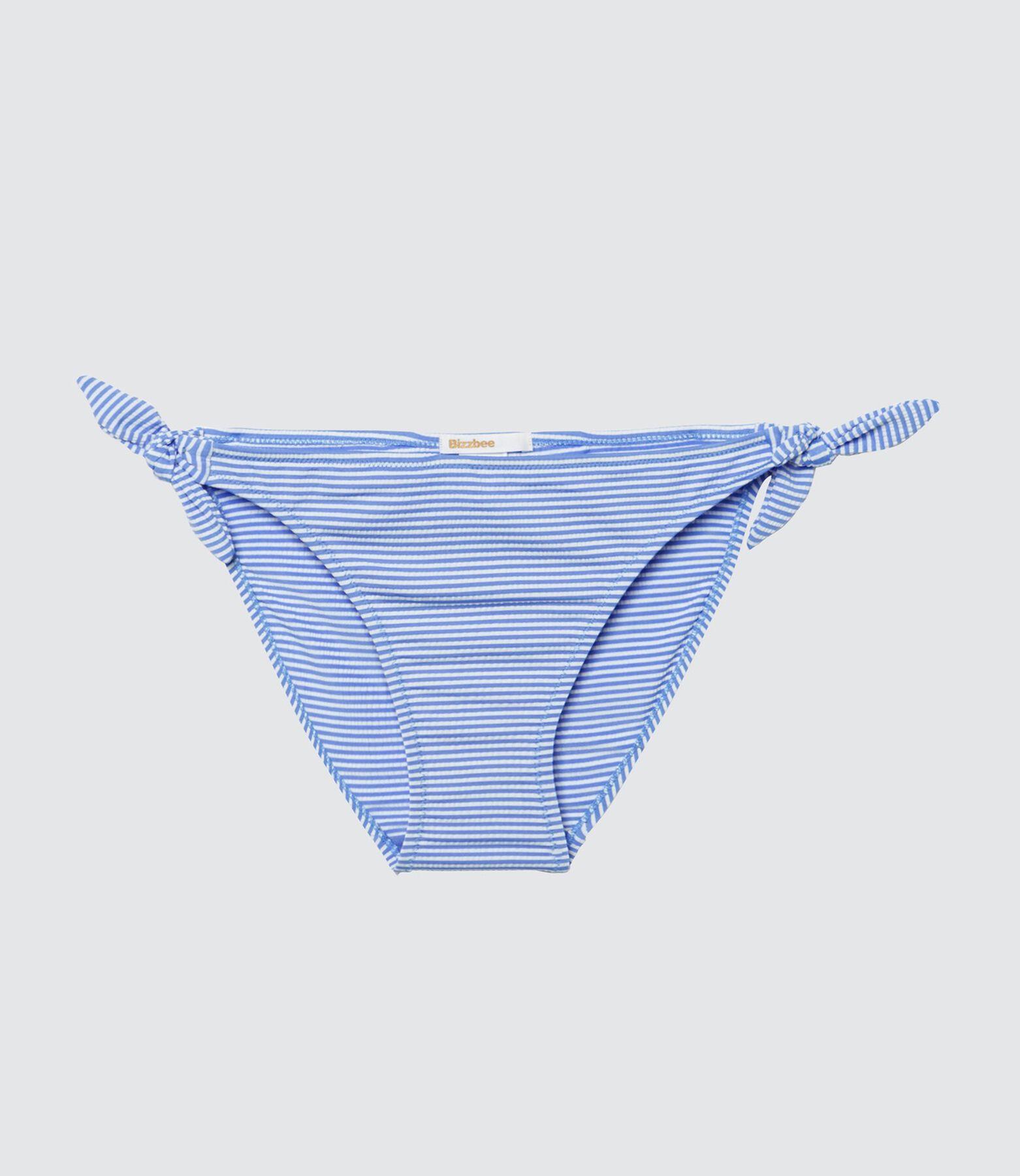 Culotte maillot de bain fine rayures