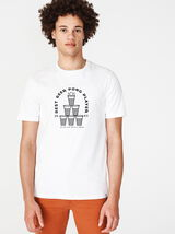 T-shirt imprimé beer pong
