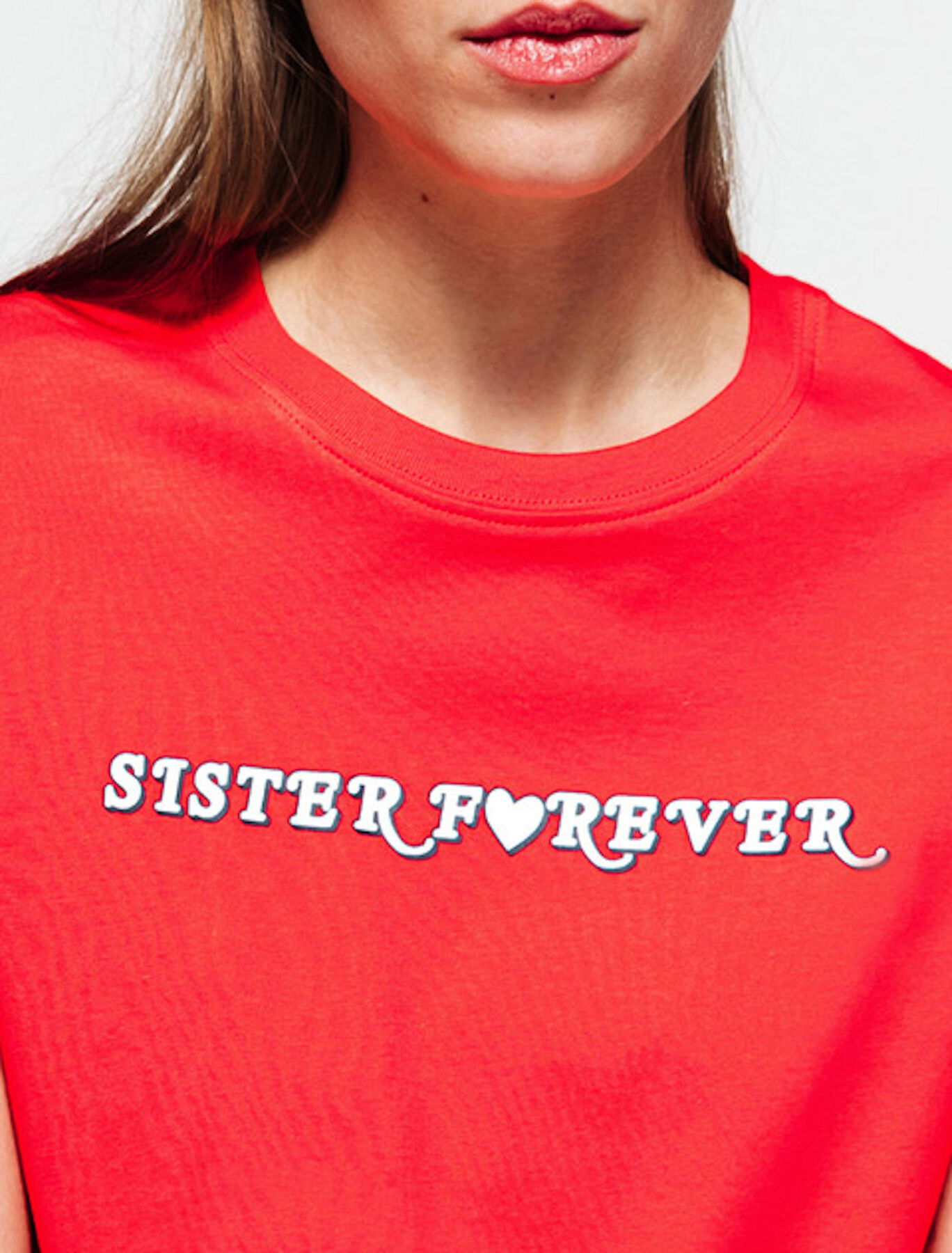 T-shirt sister forever en coton IAB