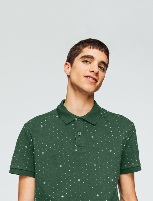 Polo imprimé all over homme