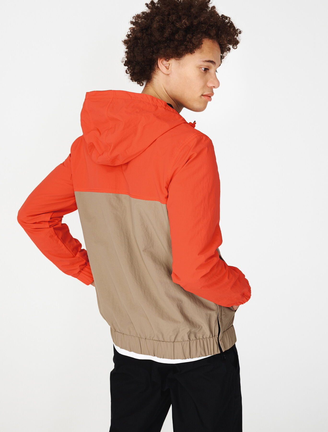 Blouson pop over reversible