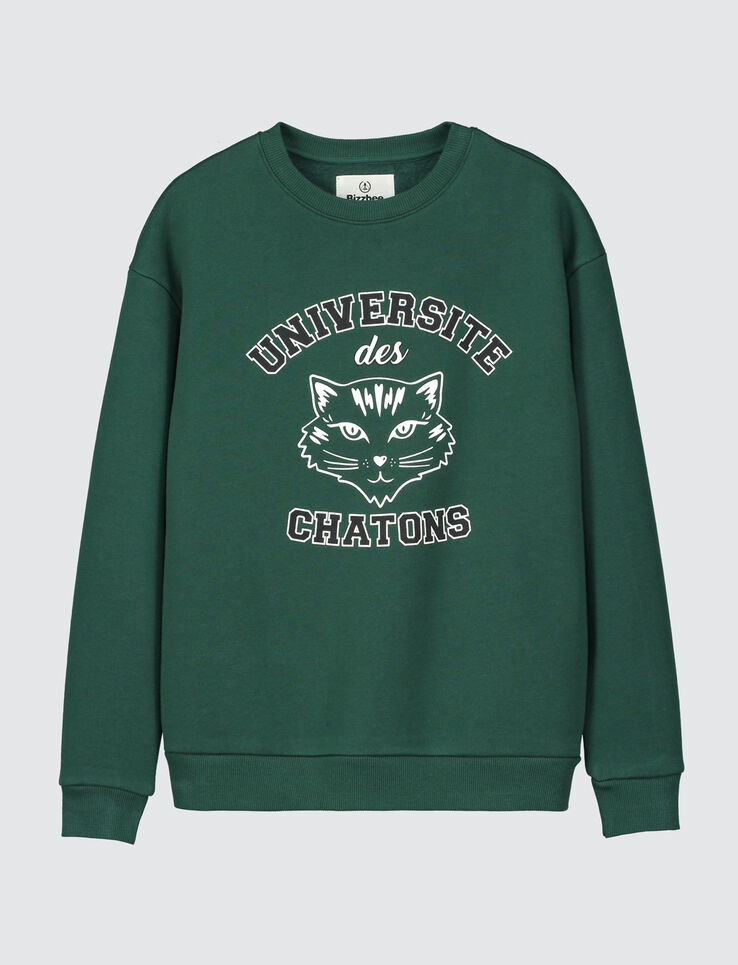 "Sweat campus ""UNIVERSITE DES CHATONS"""