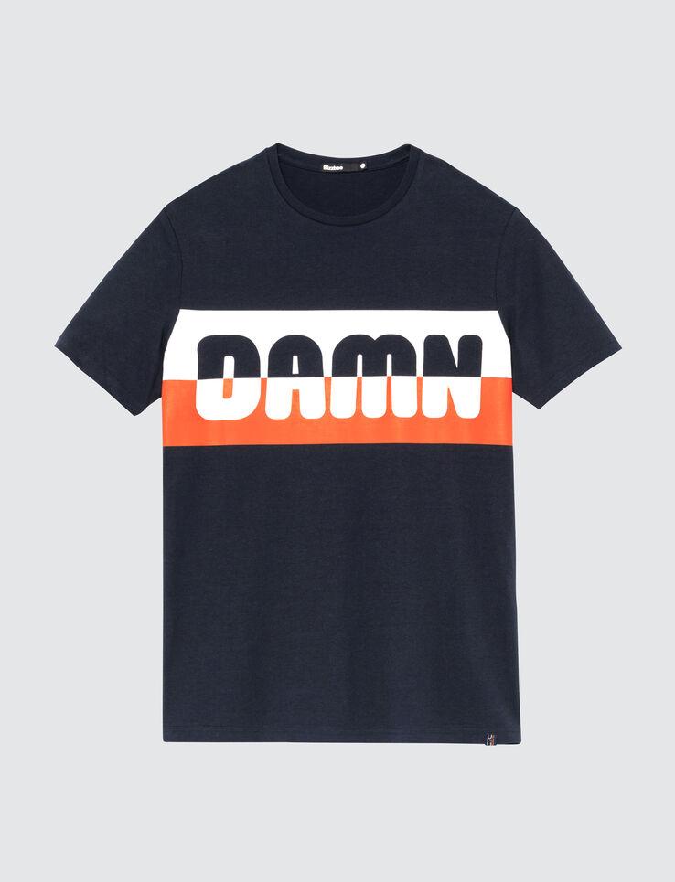 """T-shirt printé à message """"DAMN"""""""