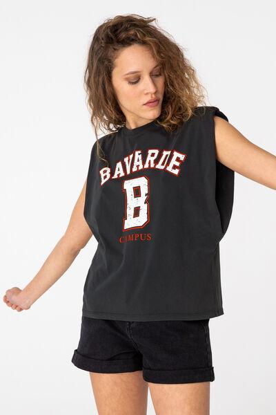 """T-shirt épaulette """"bavarde"""""""