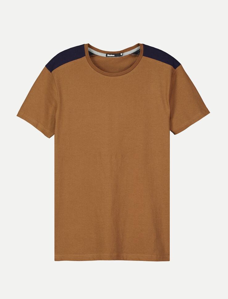 T-shirt patch épaules