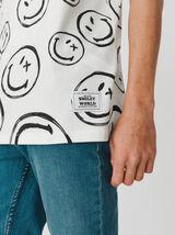 """T-shirt imprimé """"Smiley"""""""