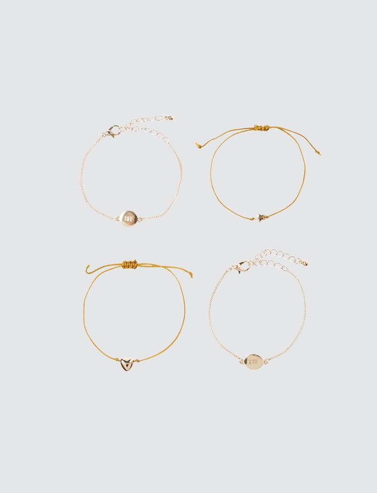 Set 4 Bracelets BFF