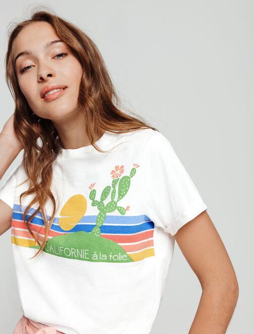 T-shirt Californie  femme