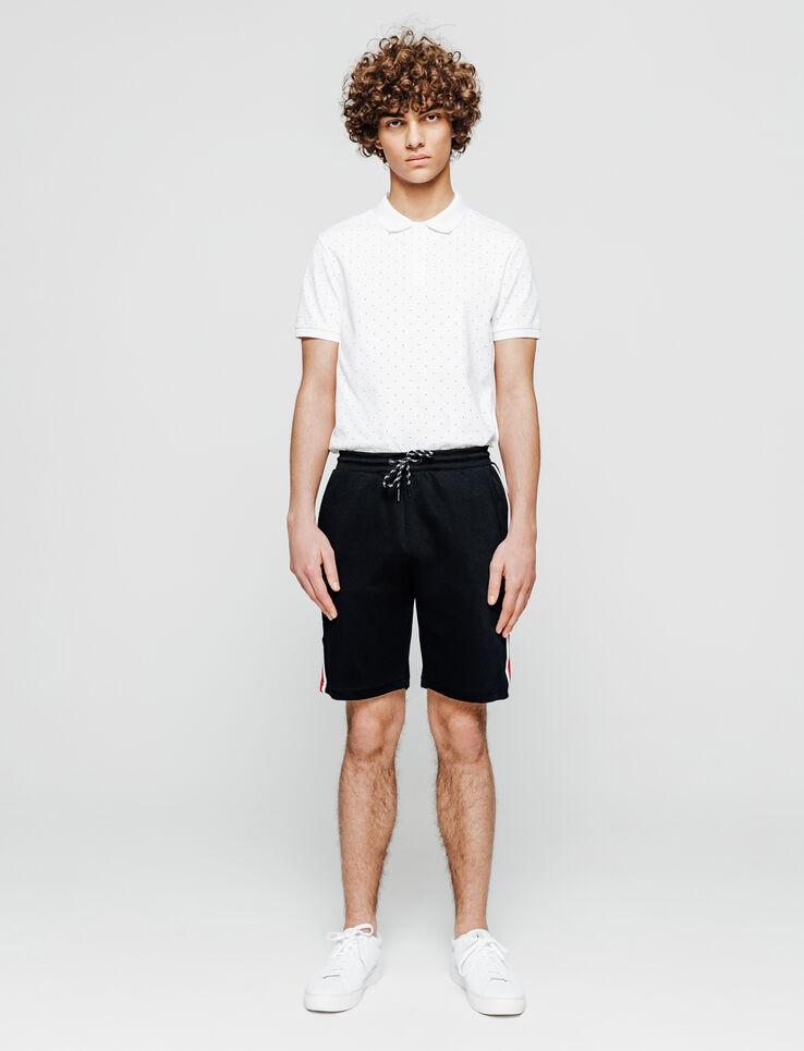 short molleton bande côté