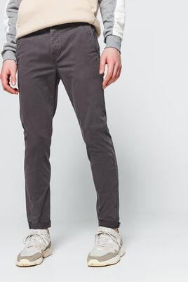Pantalon type Chino basique ajusté