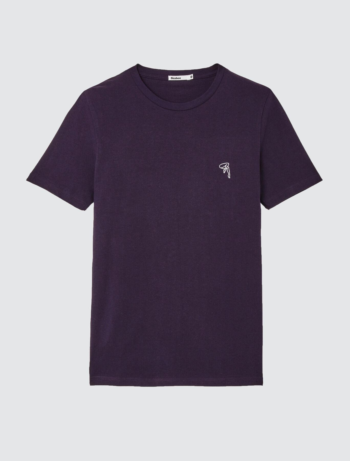 T-shirt avec animation brodée