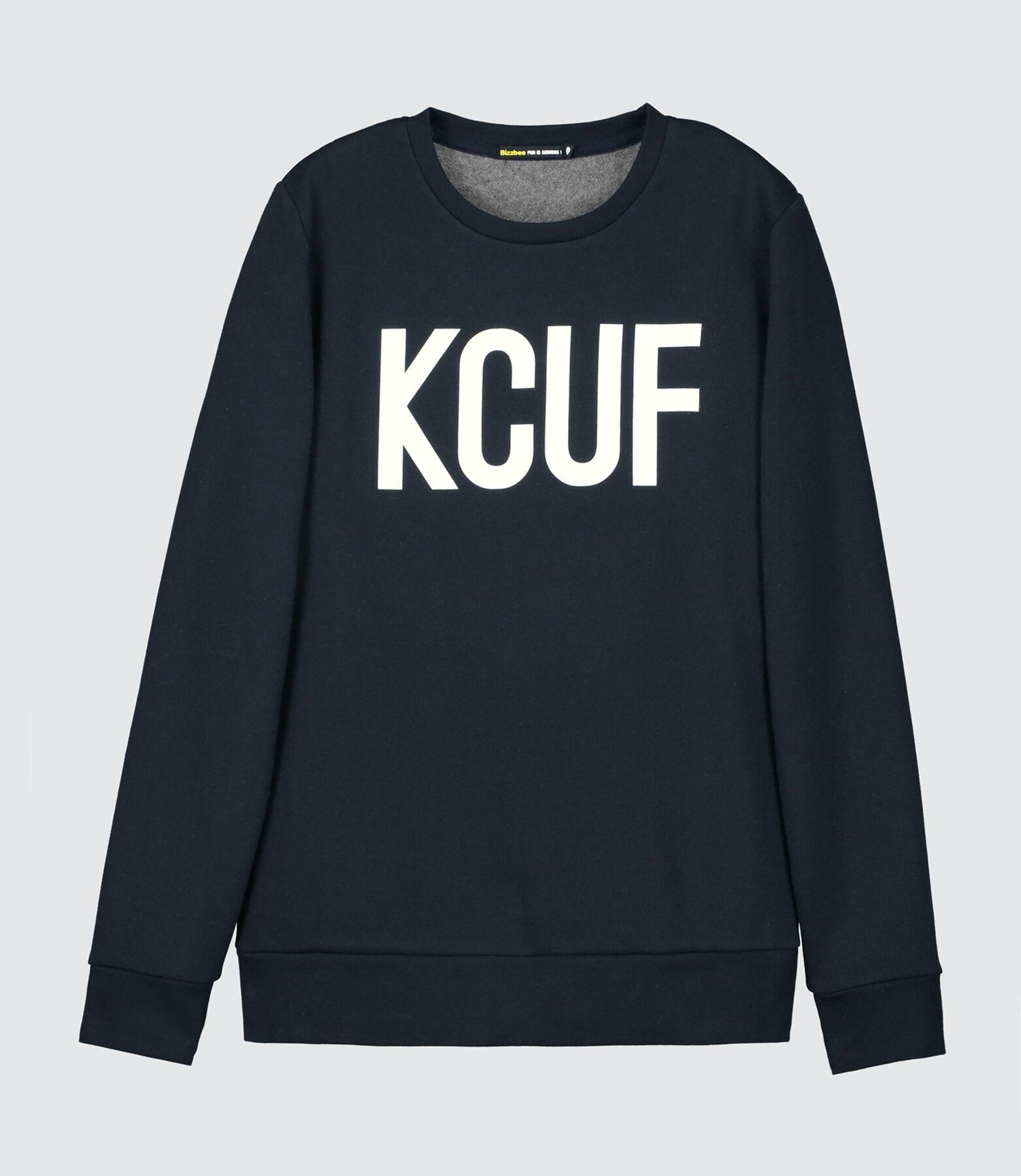 "Sweat message ""KCUF"""