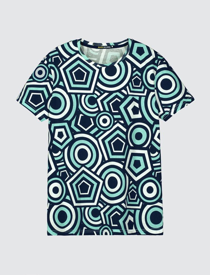 T-shirt imprimé géométrique