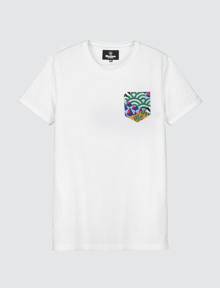 T-shirt poche imprimée SEB TOUSSAINT