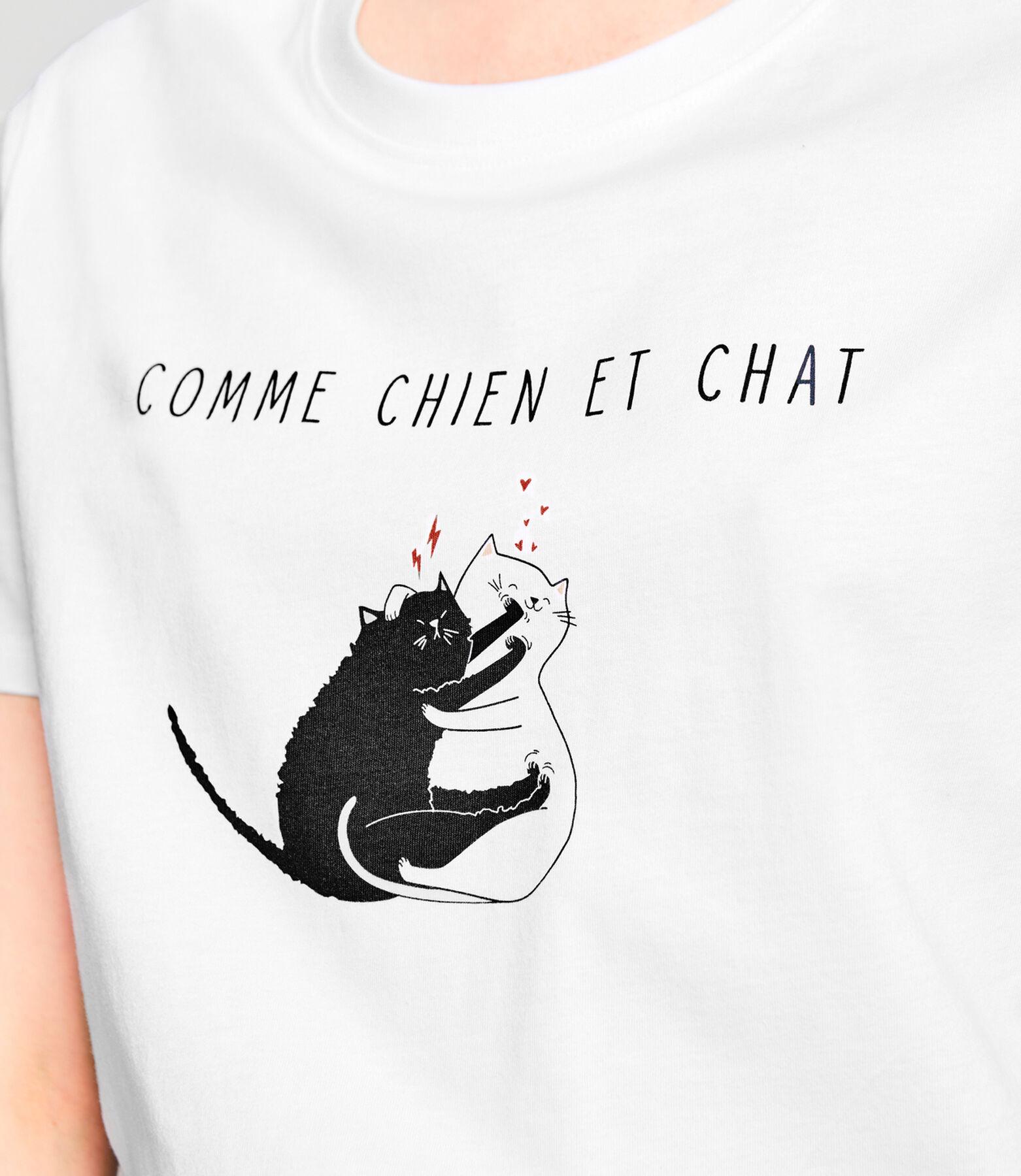 T-shirt Saint-Valentin en coton IAB