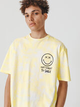 "T-shirt tie and dye ""Smiley"""