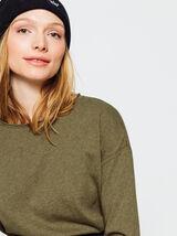 T-shirt manches longues forme boite