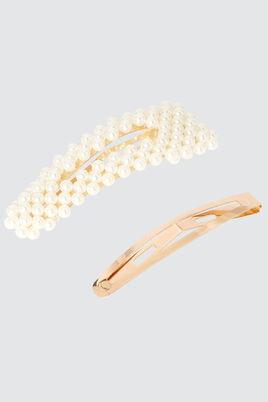 Lot*2 Pinces Perles