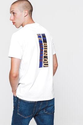 T-shirt lourd avec print devant et dos